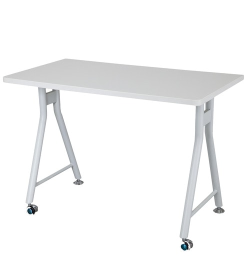 Elegant Country Movable Table In White Colour By Alex Daisy