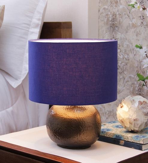 Courtyard Chakra Royal Blue Lamp Shade