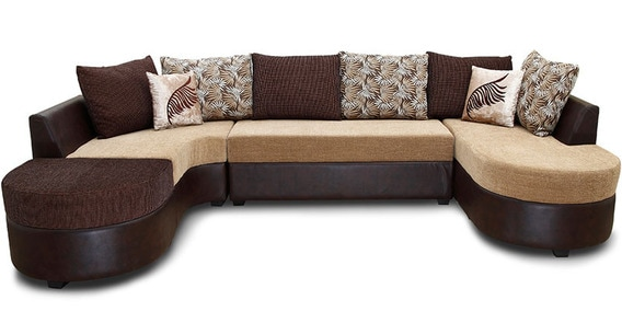 Cosmos Fabric Corner Lounger By HomeTown