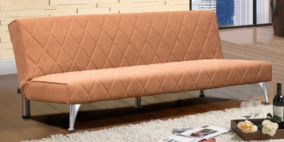 Cozy Sofa Bed In Beige Colour By Peachtree