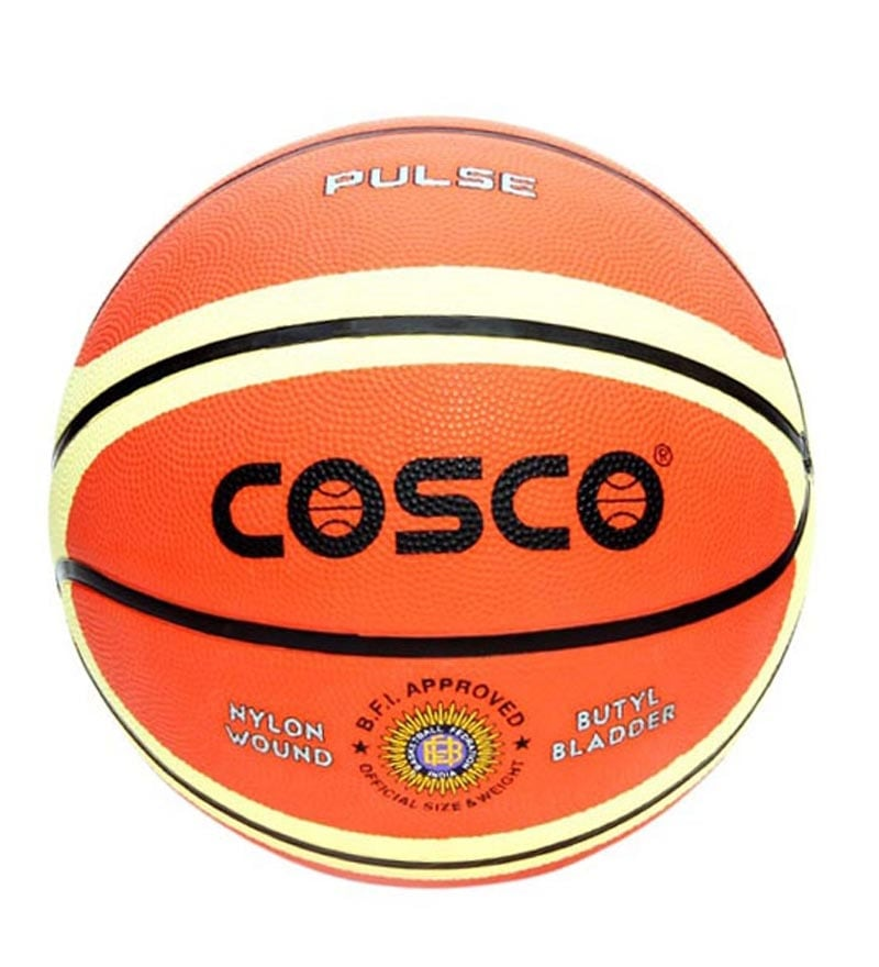 Cosco pulse basketball size 7 by cosco online ball for Basketball gym dimensions
