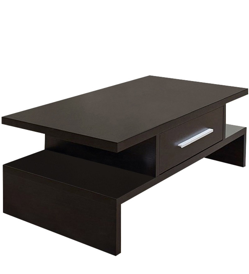 Buy Coffee Table In Wenge Finish By Exclusive Furniture Online Rectangle Coffee Tables