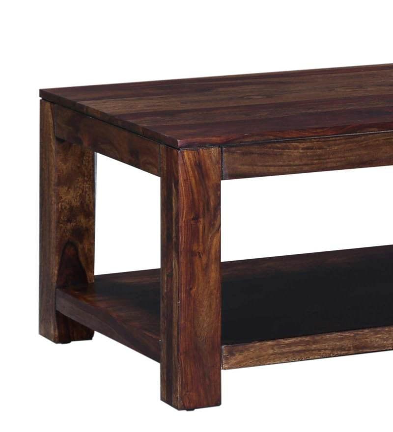 Buy Oriel Large Solid Wood Coffee Table In Provincial Teak