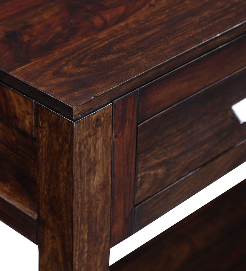 Classic Modular Kitchen Cabinets Rs 18000 Piece: Buy Oriel Solid Wood Console Table In Provincial Teak