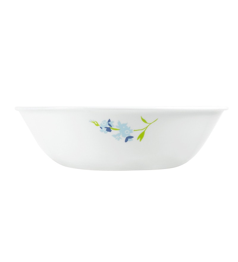 Corelle India collection Blue Blossom 1Ltr Serving Bowl