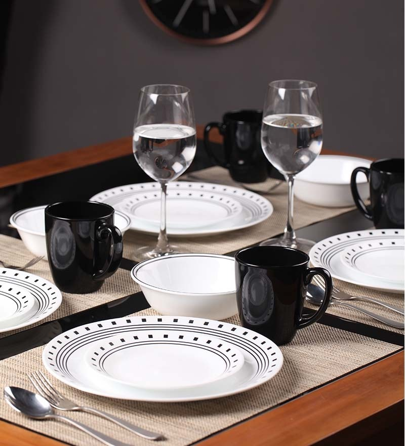Buy India Impressions 16 Piece Dinner Set By Corelle