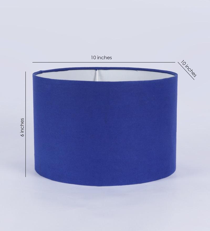 Courtyard Chakra Royal Blue Lamp Shade Contemporary