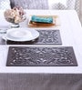 Cocktail Arai Brown Wooden Placemats - Set of 2