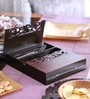 Cocktail Laser Wooden Big Cutlery Holder