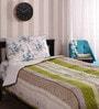 Cocobee Multicolour Cotton Single Size Quilt