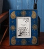 Blue Wooden 10 x 12 Inch Photo Frame by Cocovey
