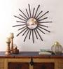 Cocovey Gold Iron Sunburst Decorative Mirror