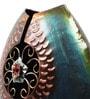 Cocovey Multicolour Metal Vintage Flower Vase