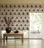Brown Poly Viscose Window Blind by Presto