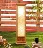 Beige Bamboo Floor Lamp by Kraftinn
