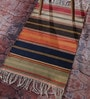 Multicolour Cotton 36 x 24 Inch Stripe Shuttle Area Rug by Contrast Living