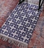 Multicolour Cotton 60 x 36 Inch Shuttle Area Rug by Contrast Living