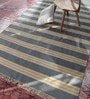 Contrast Living Multicolour Wool & Cotton 48 x 36 Inch Kilim Area Rug