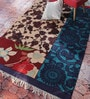 Multicolour Cotton 72 x 48 Inch Floral Area Rug by Contrast Living