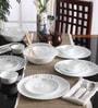 Livingware Circle Vitrelle Glass Dinner Set - Set of 16 by Corelle