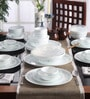 Livingware Country Cottage Vitrelle Glass Dinner Set - Set of 57 by Corelle