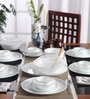 Livingware Mystic Grey Vitrelle Glass Dinner Set - Set of 30 by Corelle