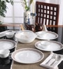Livingware Sand Sketch Vitrelle Glass Dinner Set - Set of 10 by Corelle