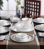 Livingware Sand Sketch Vitrelle Glass Dinner Set - Set of 30 by Corelle
