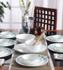 Corelle Livingware South Beach Vitrelle Glass Dinner Set - Set of 21