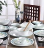 Corelle Livingware South Beach Vitrelle Glass Dinner Set - Set of 30