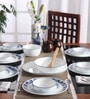 Corelle Livingware True Blue Vitrelle Glass Dinner Set - Set of 21