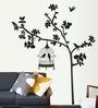 PVC Vinyl Tree & Bird Cage Theme Wall Sticker by Cortina