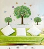 PVC Vinyl Butterfly with Tree Theme Wall Sticker by Cortina
