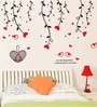 Cortina PVC Vinyl Hanging Flowers Theme Wall Sticker
