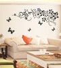PVC Vinyl Floral Design Theme Wall Sticker by Cortina