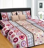 Pink Satin Queen Size Bed Sheet - Set of 3 by Cortina