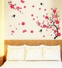 PVC Vinyl Red Leaf Theme Wall Sticker by Cortina