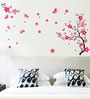 Pink PVC Vinyl Romantic Theme Wall Sticker by Cortina