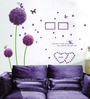 Cortina PVC Vinyl Romantic Theme Wall Sticker