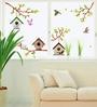 PVC Vinyl Tree House with Birds Theme Wall Sticker by Cortina