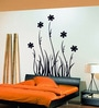 Vinyl Flower with Grass Theme Wall Sticker by Cortina