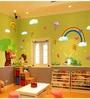 Vinyl Garden with Rainbow Theme Wall Sticker by Cortina