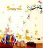 Vinyl Happy Animals Theme Wall Sticker by Cortina