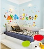 Vinyl Happy Animals View Wall Sticker by Cortina