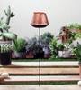 Golden Iron Jaipuri Garden Stick Tea Light Holder by Courtyard