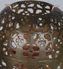Courtyard Golden Iron Palghal Antique Garden Stick Tea Light Holder