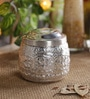 Courtyard Silver Cylindrical 195 ML Small Kanjivarm Martaban