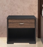 Crysler Side Table in Wenge Finish