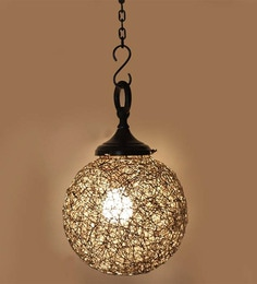 Craftter Silver 0.5W LED Iron Hanging Lamp
