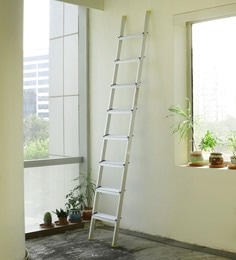 Crust Aluminium 8 Steps 8.8 Ft Straight Ladder